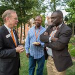 CBT Opening Reception at the Chancellor's House